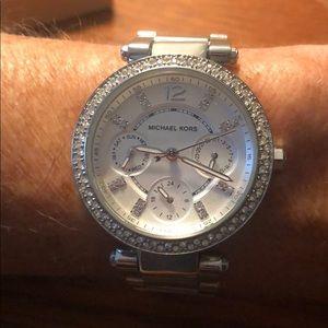Diamond Michael Kors Watch